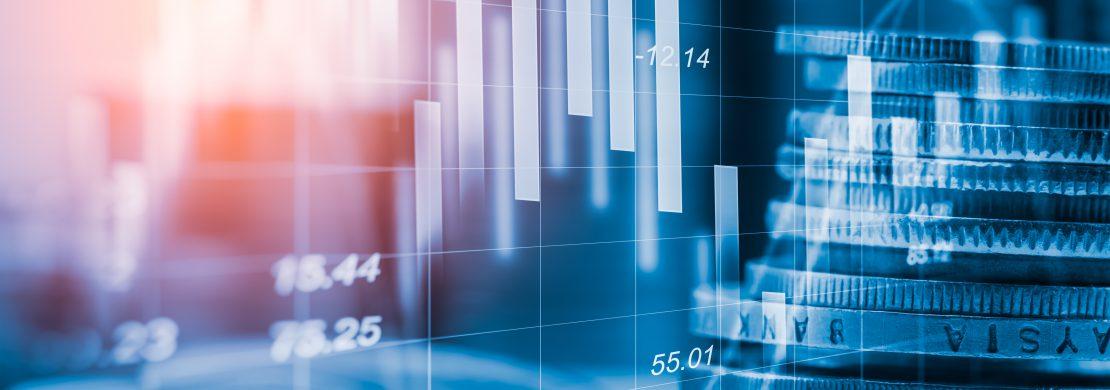 Disaster Recovery imagem com estatísticas e dinheiro representa o custo