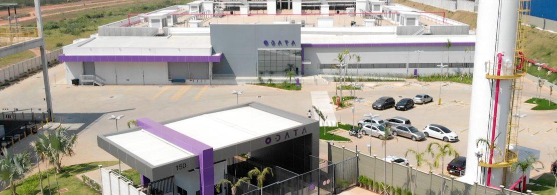 Data center ODATA recepção e prédio principal