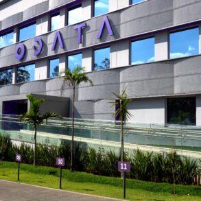 Imagem externa do data center da ODATA