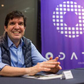 Ricardo Alario, CEO da ODATA em evento da Inova Jor