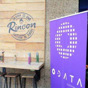Banner ODATA em evento